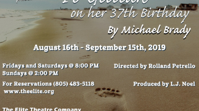 To Gillian on her 37th Birthday by Michael Brady, directed by Rolland Petrello; August 16-September 15